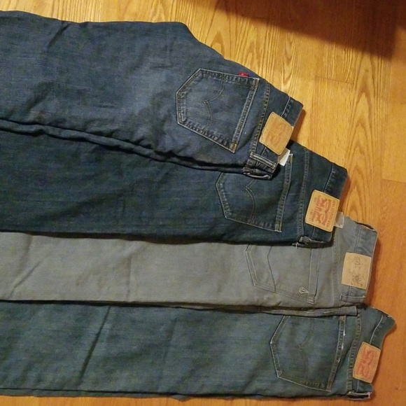Levi's Other - 4 pairs of men's jeans